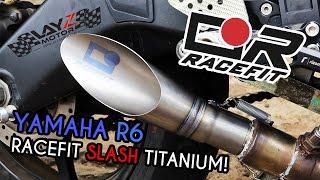 Download KNALPOT RASA MOTOGP UNTUK R6 | RACEFIT TITANIUM SLASH! Video