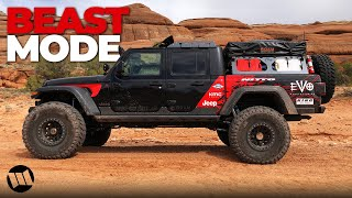 Download Jeep Gladiator Truck Overlander on 40 Tires by EVO Off Road Testing at Moab Easter Jeep Safari Video