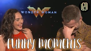 Download Gal Gadot and Chris Pine Funny Moments PART 1 - Wonder Woman Video