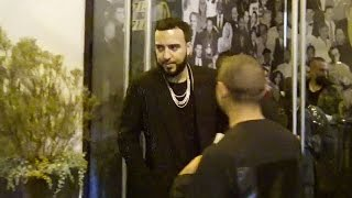 Download French Montana Exchanges Numbers With A Sexy Girl After Dinner At Catch Video