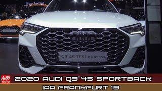 Download 2020 Audi Q3 45 TFSI Sportback -Exterior And Interior - 2019 Frankfurt Motor Show Video