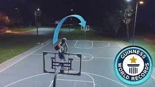 Download BREAKING IMPOSSIBLE BASKETBALL WORLD RECORDS! Video