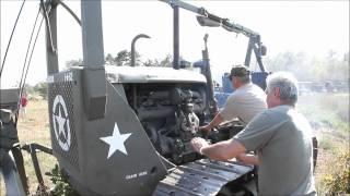 Download Starting a WWII Caterpillar D-7 [1080p HD] Video