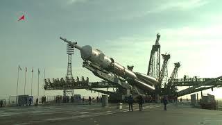 Download Вывоз РКН «Союз-ФГ» с ТПК «Союз МС-08» Video