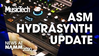 Download ASM HydraSynth: What's new? #NAMM2020 Video