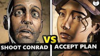 Download Shoot Conrad VS Accept Plan - BOTH ENDINGS to The Walking Dead Season 3 Episode 2 Video