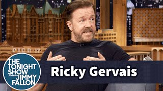 Download Ricky Gervais Attempts the Most Impressions in 30 Seconds Video