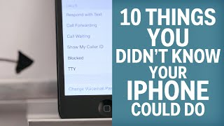 Download 10 Things You Didn't Know Your iPhone Could Do Video