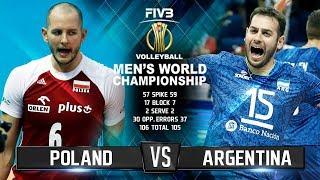 Download Poland vs. Argentina | Volleyball Highlights | Mens World Championship 2018 Video