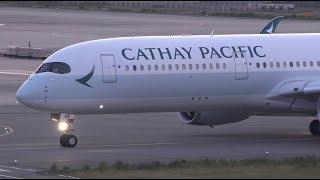 Download Cathay Pacific Airbus A350-900 B-LRK Takeoff from KIX 24L Video