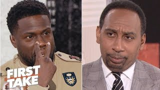 Download Kevin Hart defends Philadelphia to Stephen A. | First Take | ESPN Video
