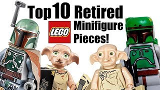 Download Top 10 Retired LEGO Minifigure Pieces! Video