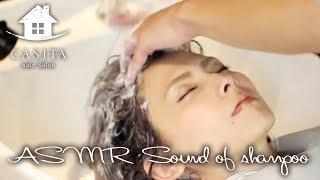 Download 【音フェチ】眠くなる…美容室でのシャンプーの映像と音 Sound of shampoo【ASMR】 Video