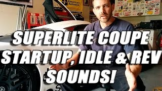 Download RCR SLC Superlite Coupe Start up sounds, idle and revving! LOUD!! Video