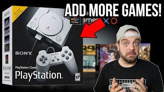Download How To ADD MORE GAMES to Playstation Classic!   RGT 85 Video