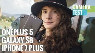 Download Camera battle: OnePlus 5 vs. Galaxy S8 vs. iPhone 7 Plus Video