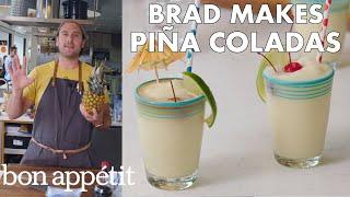 Download Brad Makes BA's Best Piña Coladas | From the Test Kitchen | Bon Appétit Video