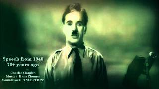 Download The Great Dictator Speech (Charlie Chaplin) & Inception' Time ' [HD] best version HQ Video