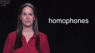 Download Homonyms and Homophones – The Most Common Homophones in English – Learn Grammar Video