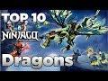 Download Ninjago: Top 10 Lego Ninjago Dragons (OLD/OUTDATED) Video