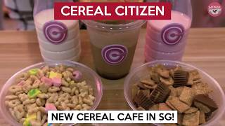 Download Singapore's Very Own Cereal Cafe Opened By Bong Qiu Qiu   Cereal Citizen Video