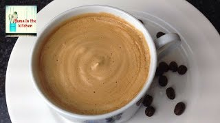 Download Coffee Recipe Without Machine in 5 minutes - Frothy Creamy Coffee Homemade by (HUMA IN THE KITCHEN) Video