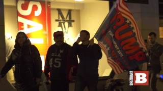Download Anti-Trump Anarchists Destroy U.S. Flag, Light Fires in D.C. Video