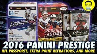 Download 2016 Panini Prestige Retail Box IRL - In Real Life Retail Football Card - ″Panini Football Cards″ Video