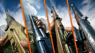 Download ALL 24 PRIMARY WEAPONS / ASSAULT / MEDIC / SUPPORT & SCOUT CLASSES! - Battlefield 1 Video