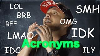 Download 18 Acrónimos muy usados en Inglés.Que significa OMG, LMAO ,BRB, SMH, ROFL y muchos más Video