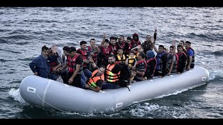Download Syrian Refugee Crisis - The hardest part of their journey to Europe. Video