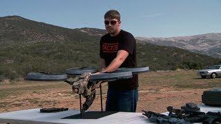 Download Prototype Quadrotor with Machine Gun! Video