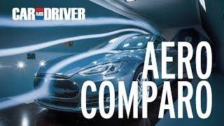 Download Aero Comparo! Tesla Model S vs Volt, Prius, Leaf, Mercedes CLA Video