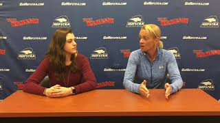 Download SB: W.B. Mason Coaches Report With Hofstra Coach Larissa Anderson (3/19/18) Video