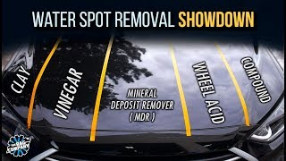 Download WATER SPOT REMOVAL: What Works Best?   Product Comparison Video