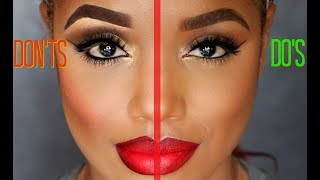 Download MAKEUP DO'S AND DON'TS | MAKEUP Mistakes to Avoid | Ellarie Video