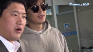 Download [직캠] 20160405 LeeMinHo Arrived Incheon Airport from Philippines Cebu~~by Rainbow MH Video