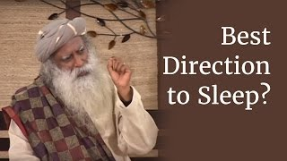 Download What is the Best Direction and Position to Sleep In? - Sadhguru Video