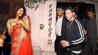Download Priyanka Chopra's Boyfriend Nick Jonas Arrives At Priyanka's House For WEDDING Ring Ceremony Video