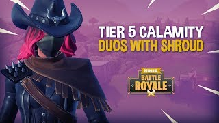 Download Tier 5 Calamity - Duos With Shroud!! - Fortnite Battle Royale Gameplay - Ninja Video