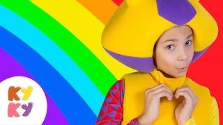Download 🙂КУКУТИКИ - РАДУГА🌈 KID SONG детская веселая обучающая песенка 🎼 мультик про цвета Video