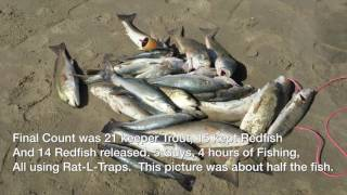 Download Surf Fishing Artificial Lures Redfish, Speckled Trout Gulf Coast Video