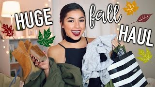 Download Huge Try On Fall Haul 2016! Nordstrom, Sephora, Forever 21, & Urban Outfitters! Video