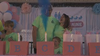 Download See How Parents Expecting Sextuplets Planned Gender Reveal Party Video