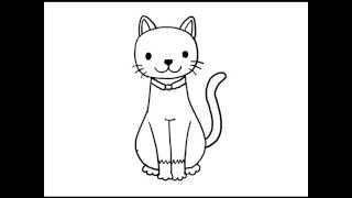 Download สอนวาดรูป การ์ตูน แมว อย่างง่าย Video