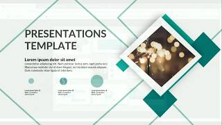 Download Awesome White Presentations Business Slide PowerPoint as Shutterstock - Pro Template Video