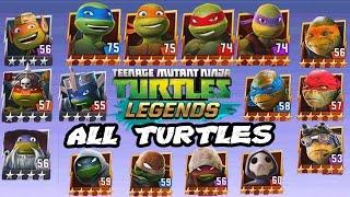 Download Teenage Mutant Ninja Turtles: Legends - All Turtles Character Fight Video