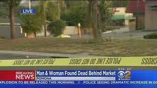 Download Woman, Man Found Shot To Death Behind Pomona Market Video
