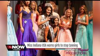 Download Miss Indiana USA warns girls to stop tanning Video