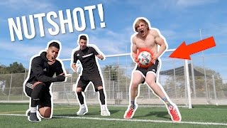Download I TOOK A SOCCER BALL TO THE... (worst pain ever) Feat. F2 Freestylers! Video